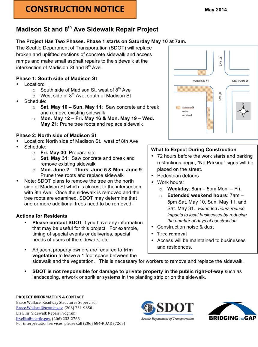 Microsoft Word - Madison & 8th sidewalk flyer WORD doc for publi