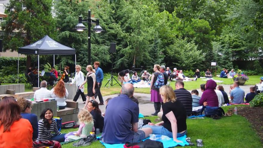 music under the stars - freeway park